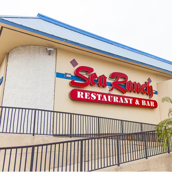 Serving South Padre Island visitors and locals for over 35 years, Sea Ranch Restaurant and Bar serves wild-caught seafood, plus steaks and pastas, at a colorful, bi-level eatery with marina views.