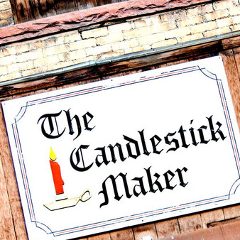 Once a local candle making company, the Candlestick Maker would not only sell candles, but allow visitors to make their own candles while observing the candle making process.