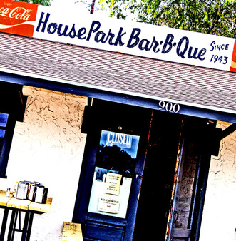 Old-school, long-running BBQ joint with a down-home vibe, a menu of classic fare & outdoor tables.