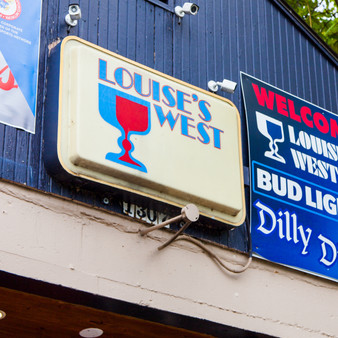 <p>Louise's West has been serving Lawrence, KS residents for over 42 years! <p><p>Click &lsquo;Choose a Product&rsquo; above to get this image hand printed on a ceramic 4x4 custom coaster, cutting board, magnet, ceramic trivet, ornament, dog tag or canvas.</p>