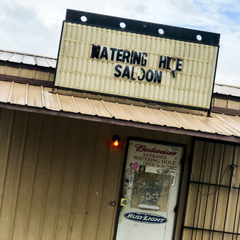 Known as the local motorcycle clubs' hangout spot, the Watering Hole Saloon features great drinks and karaoke. Being that they remain open from 7 AM to 2 AM, visitors love to come and go, making this a local staple piece in Shawnee, Oklahoma.