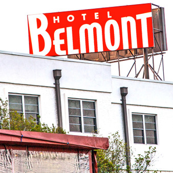 The Belmont Hotel Dallas is a boutique hotel opened in 1947 near downtown Dallas. It is known for its interesting example of Art Modern design with an emphasis on horizontal lines, rounded corners, and stucco facades. The hotel is a haven for creatives, artists, musicians, and travelers seeking a simple and contemporary hotel near downtown Dallas.