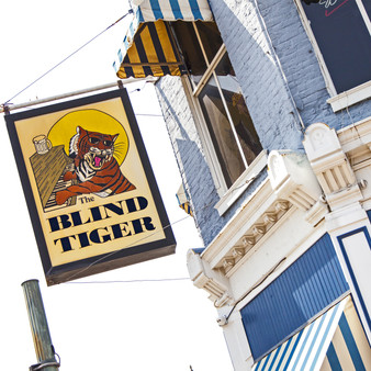 The Blind Tiger is a popular downtown Shreveport eatery and bar with a distinctly Louisiana flavor. Menu favorites include fried catfish filets, crab cakes, burgers and more.