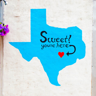This sweet mural (pun intended) is located outside Kellie's Baking Co. – a local bakery known for their cookies.