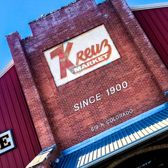 Kreuz Market had been open and serving it's famous BBQ to Lockhart, Texas residents for more than 99 years before moving locations to 619 Colorado Street.