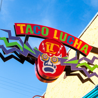 <p>Taco Lucha is a Mexican Restaurant in Manhattan, KS with a modern twist. <p><p>Click &lsquo;Choose a Product&rsquo; above to get this image hand printed on a ceramic 4x4 custom coaster, cutting board, magnet, ceramic trivet, ornament, dog tag or canvas.</p>