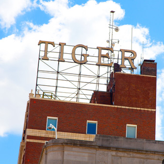 Tiger Hotel Sign