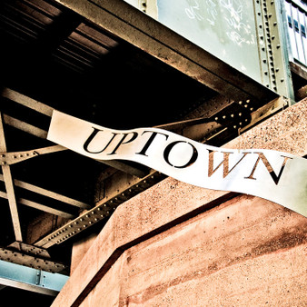 This whimsical sign welcomes everyone to Uptown Dallas. Known as a public improvement district and an upscale neighborhood, Uptown is known for its eclectic bar and restaurant scene. With lively sports bars, global bistros, high-end boutiques, and playful cocktail lounges, Uptown attracts a variety of professionals.