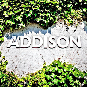Welcoming visitors and tourists to the city itself, is this grand Addison sign. Formerly known as Peter's Colony, the city of Addison settled in 1849. With a small population, this town is incorporated into Dallas County and is immediately north of Dallas.