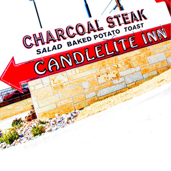 The Candlelite Inn restaurant is a part of history in Arlington, Texas. Established in 1957 it was the first restaurant to offer pizza in Arlington. When the restaurant was in the small rock building next to the existing structure all they served was tacos, pizza, beer, and soft drinks. In 1964 the larger building was put up and the legacy of Steaks, Tex-Mex, Italian entrees, and the coldest mugs of beer anywhere around began.