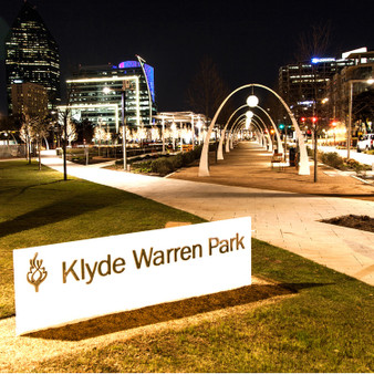 Ranging over the span of 5 acres is this urban park in Downtown Dallas open to the public. Featuring several events, Klyde Warren Park tries to fill the park with live entertainment and a variety of dining options, as much as possible.  To provide seating for those who don't plan on camping out on the grass, the park also presents a string of colorful bistro sets where visitors are encouraged to socialize under the sun.