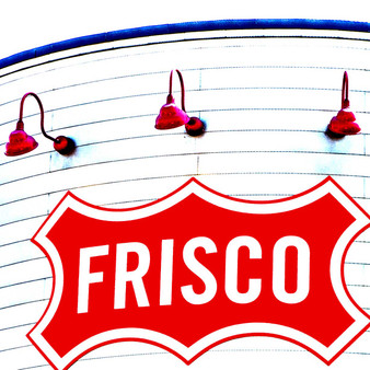 With the use of the vintage architecture this modern sign is found on, Frisco welcomes all to its quirky town.
