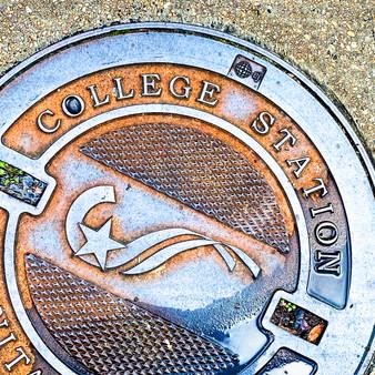 College Station Manhole