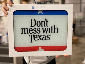 Don't Mess with Texas Cutting Boards