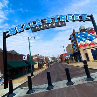 Beale Street Entrance Sign
