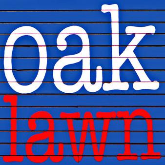 Oak Lawn Red White Blue