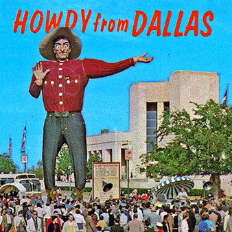 Welcoming you into Dallas is a mural of this buck-eyed cowboy.