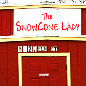 This local snow cone shack is open seasonally and draws long lines for its cold treats.