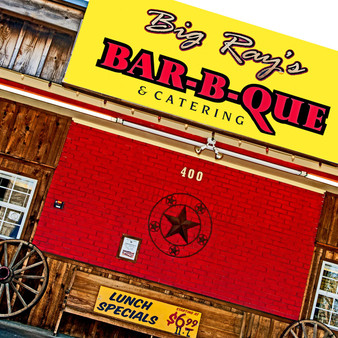 Big Ray's BBQ opened its doors in January 2011 in Allen, Texas. It is a cozy, family-run eatery serving BBQ, baked potatoes & desserts in a low-key, rustic space.