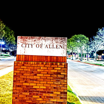 A rather small suburb of less than 100,000 people located north of Dallas. Known for its passion for sports, Allen, TX is a very active area with tons of trails, parks, and natural museums to explore.