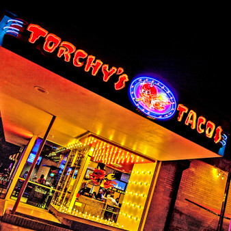 Based on a dream, Torchy's Tacos franchise is known all throughout Texas, Oklahoma, Colorado, and Arkansas. It all started when owner Mike Rypka bought a food trailer and vespa to tour the city in hopes to get his business going. Now, with over 100 locations, Torchy's Tacos is known to be a taco joint that never gets it wrong, while featuring unique decor in each location.