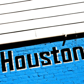 Paying homage to the easy-flow attitude many think about when picturing Houstonites, this mural emphasizes the city's bold yet laidback feel.