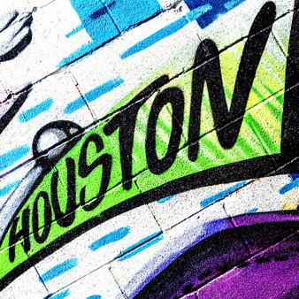 As a large amount of creativity fills Houston's streets, this mural pays tribute to its electrifying nature.