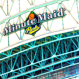 Minute Maid Park, previously known as The Ballpark at Union Station, Enron Field, and Astros Field, is a ballpark in Downtown Houston, Texas, United States, that opened in 2000 as the home stadium for the Houston Astros of Major League Baseball.