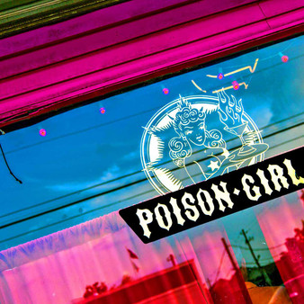 As a local dive bar, Poison Girl is an eclectic bar serving cocktails amidst red walls, female-inspired art and pinball machines. With a cozy outdoor patio plus being surrounded by a sea of murals, this might as well be the town's new social club.