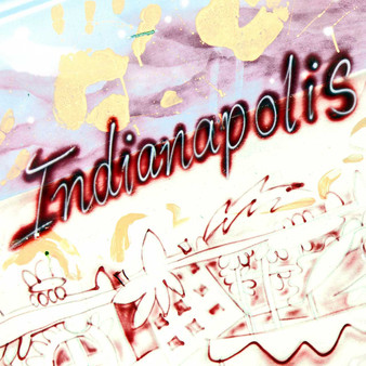 <p>An illustration of the word Indianapolis spotted on a wall in downtown. <p><p>Click &lsquo;Choose a Product&rsquo; above to get this image handprinted on a ceramic 4x4 custom coaster, cutting board, magnet, ceramic trivet, ornament, dog tag or canvas.<p>