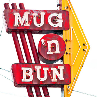 <p>Mug n Bun Drive-in has been serving excellent food on Indy's Westside for nearly 50 years.<p><p>Click &lsquo;Choose a Product&rsquo; above to get this image handprinted on a ceramic 4x4 custom coaster, cutting board, magnet, ceramic trivet, ornament, dog tag or canvas.<p>