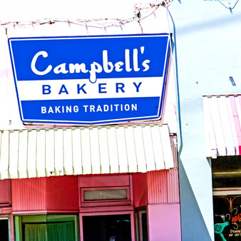 Campbell's Bakery has been cooing cakes, cookies, brownies & other sweets from scratch since 1962.