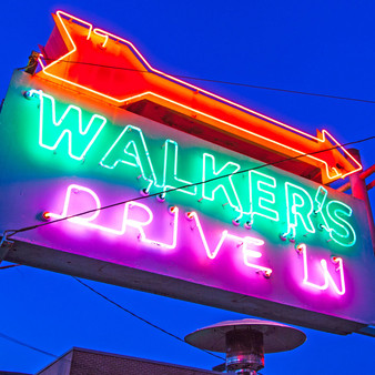 Walker's Drive In is a stylish bistro serves locally-sourced New American fare amid brick walls & black & white floors.