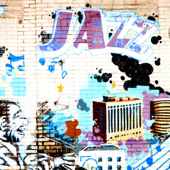 Jazz Wall Mural