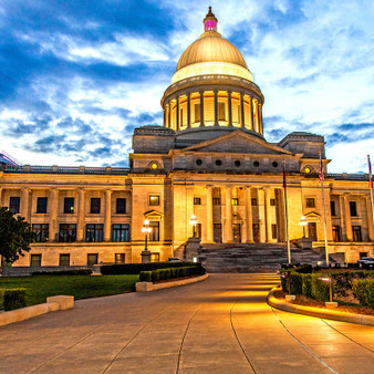 The Arkansas State Capitol often called the Capitol Building, are the home of the Arkansas General Assembly and the seat of the Arkansas state government that sits atop Capitol Hill at the eastern end of the Capitol Mall in Little Rock, Arkansas.