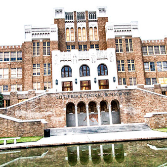 Little Rock Central High School (LRCHS) is an accredited comprehensive public high school in Little Rock, Arkansas, United States. The school was the site of forced desegregation in 1957 after the U.S. Supreme Court ruled that segregation of public schools was unconstitutional three years earlier. It was during the period of heightened activism in the civil rights movement.