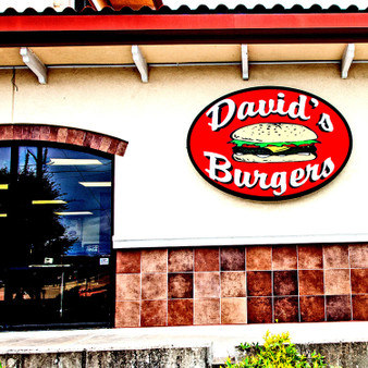 David's Burger is a traditional hamburger restaurant founded by David Alan Bubbus as a tribute to his father, David Bubbus Sr.