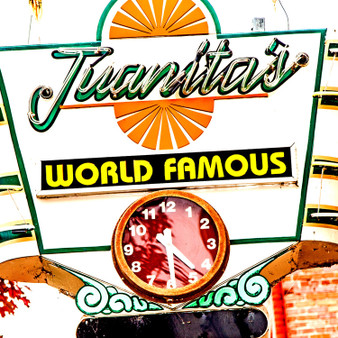 Juanita's Candy Kitchen serving  peanut brittle since 1974.