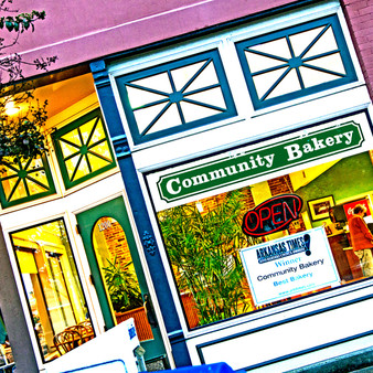 "Community Bakery was started in 1947 by Ralph Hinson in the Rose City section of North Little Rock. Community Bakery has been voted ""Best Bakery"" in Central Arkansas in the Arkansas Times Readers Choice Awards and ""Best Bakery"" in the Arkansas Democrat-Gazette Best of Central Arkansas Awards."