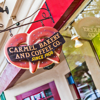 Carmel Bakery and Coffee Company Sign