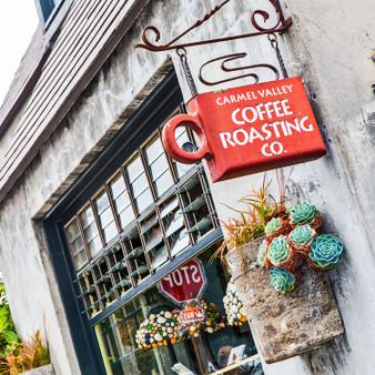 Carmel Valley Coffee Roasting Company Sign