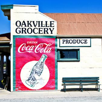 Oakville Grocery Mural