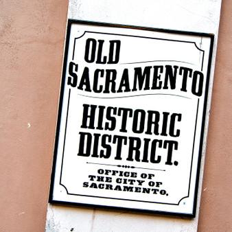 Old Sacramento Mural