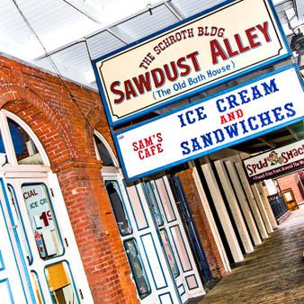 Sacramento Sawdust Alley Sign