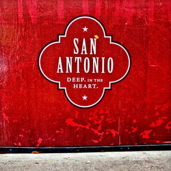 Created carefully with precision, this Texas mural shows off a combination of San Antonio's pride, culture, and glamorous aura.