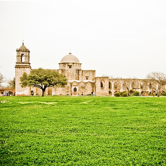 San Antonio Missions National Historical Park is a National Historical Park and part of a UNESCO World Heritage Site preserving four of the five Spanish frontier missions in San Antonio, Texas, USA. These outposts were established by Catholic religious orders to spread Christianity among the local natives, while keeping the Spanish culture alive. As one of the most historic landmarks through all of Texas, visitors can tour the grounds, do art in the park, take photos, and have a picnic at sunset.