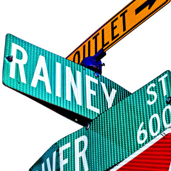 The Rainey Street Historic District is a street of historic homes, many of the bungalow style, in downtown Austin, Texas. Rainey Street is positioned near Lady Bird Lake and Interstate 35 in the southeast corner of downtown.