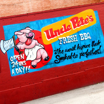 Known for its classic, smokehouse barbecue is Uncle Pete's. Now permanently closed, Uncle Pete's became a staple for large gatherings as it offered a little something to everyone.