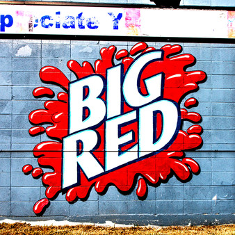 Created in 1937 in Waco, Texas, this mural of the infamous Big Red logo shows off one of San Antonio's most chosen and favorite beverages.