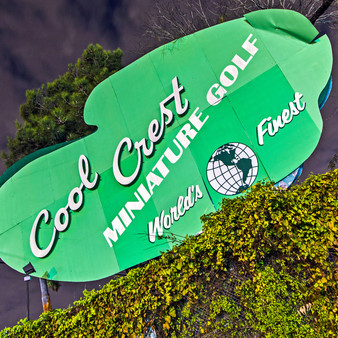 Built in 1929, right around when the Great Depression began, the creation of Cool Crest Miniature Golf marked a major developmental period in San Antonio.  Constantly renewing its face to fit the unorthodox San Antonio theme, Cool Crest still operates today, carrying almost a century of rich history.